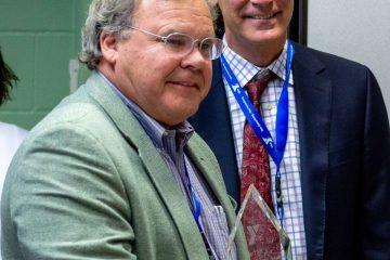 YMCA Community Partner of the Year award winner Warren Waugh