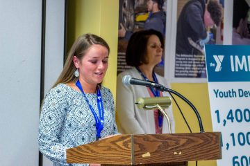Y Champion Scholarship winner Erin Kidd